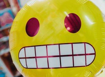 socially awkward balloon