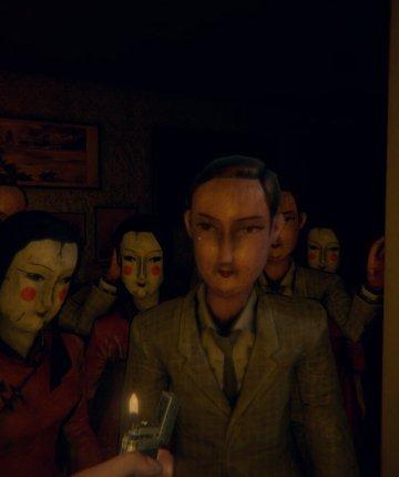 mannequins in indie horror game Devotion