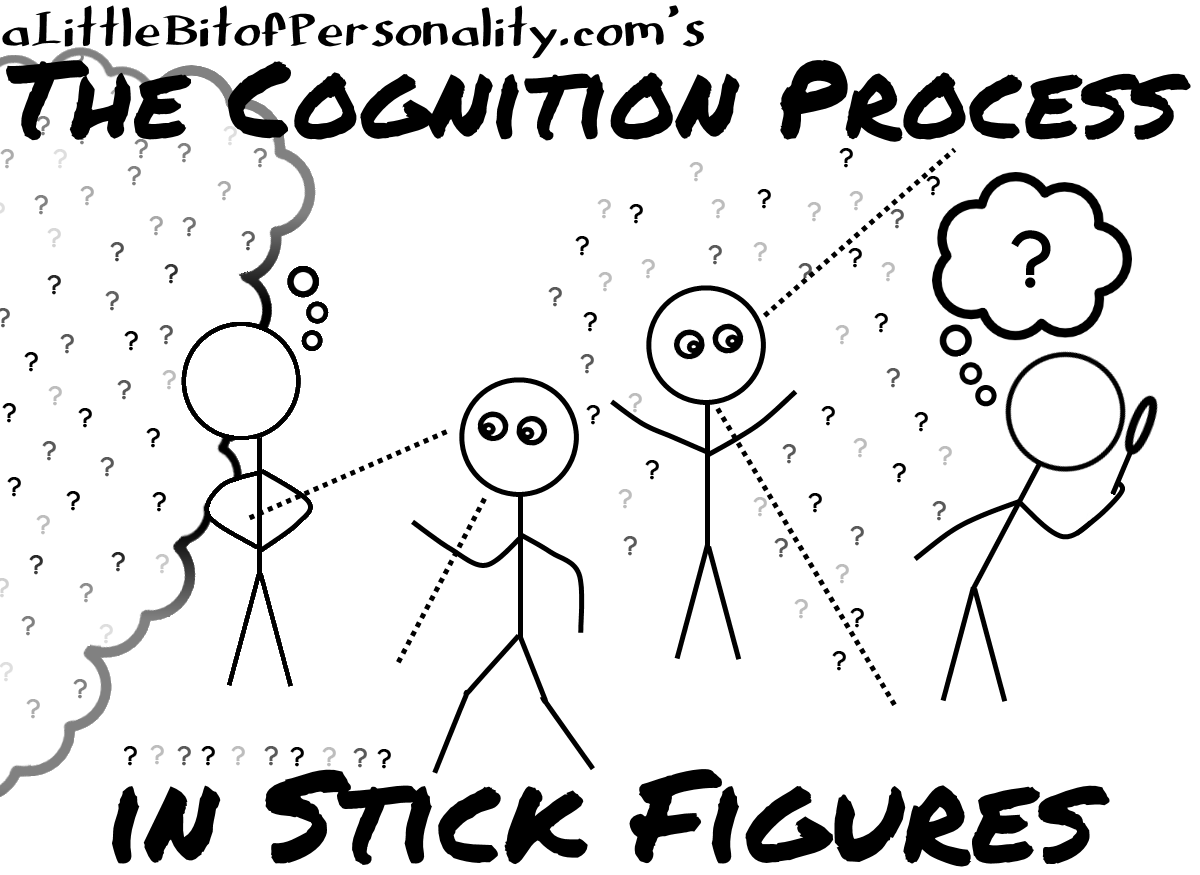 The Cognition Process in Stick Figures