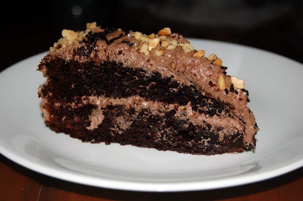 Mocha Chocolate Cake