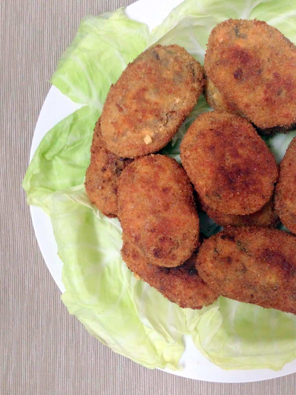 Paneer (Indian Cottage Cheese) Cutlet
