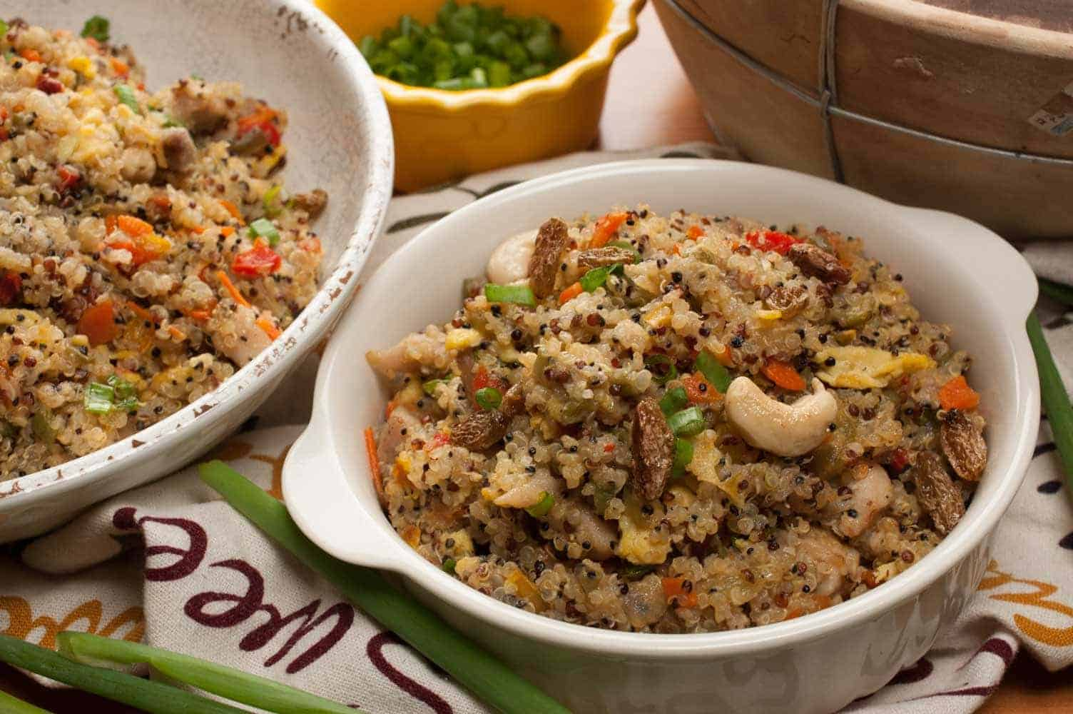 Quinoa Stir Fry with Chicken And Vegetables