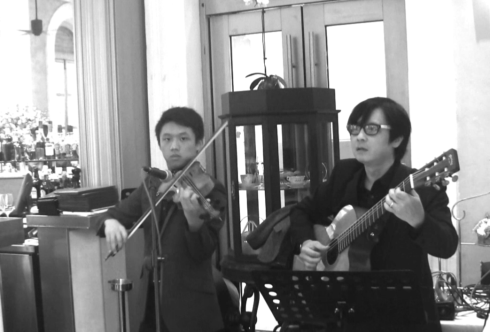 violinist-guitarist