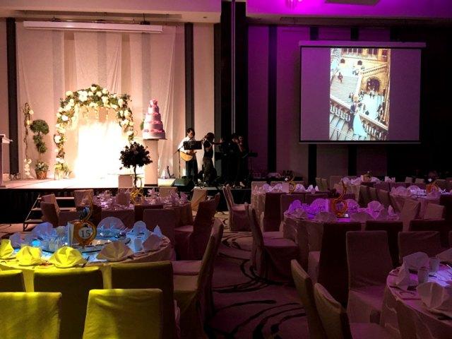 Parkroyal Beach Road Wedding Ballroom