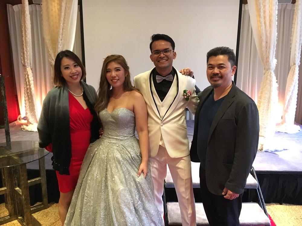 Regent Hotel SG Wedding Live Band Ballroom