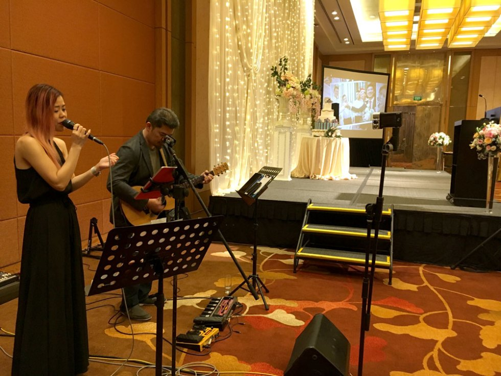 MBS Wedding Simpor Live Band Emcee MC