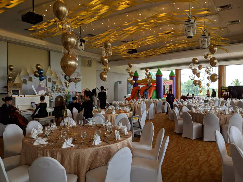 Shangri-la Rasa Sentosa Birthday Wedding Ballroom