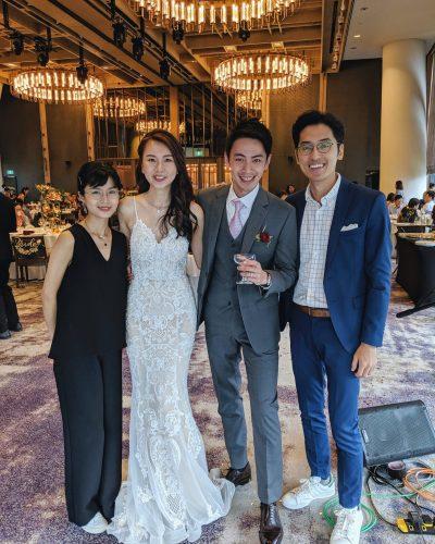 Andaz Singapore Wedding Live Band Singer Music Emcee Best