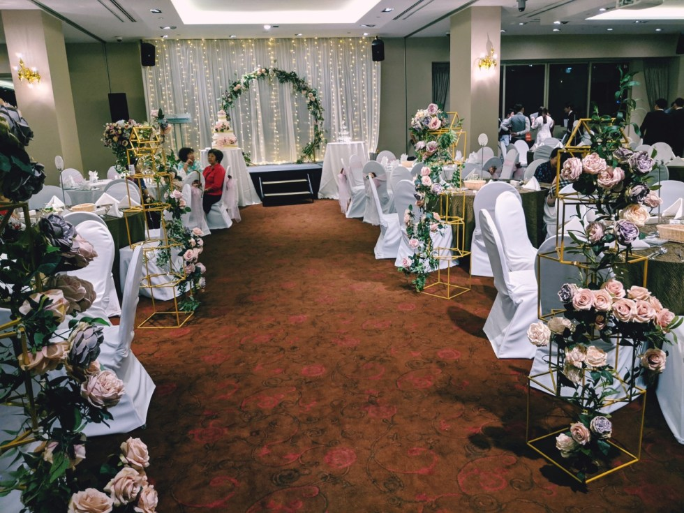 Hotel Fort Canning Wedding Buffet Decor