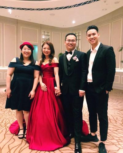 Fullerton Hotel Singapore Wedding Singer Live Band Music Emcee
