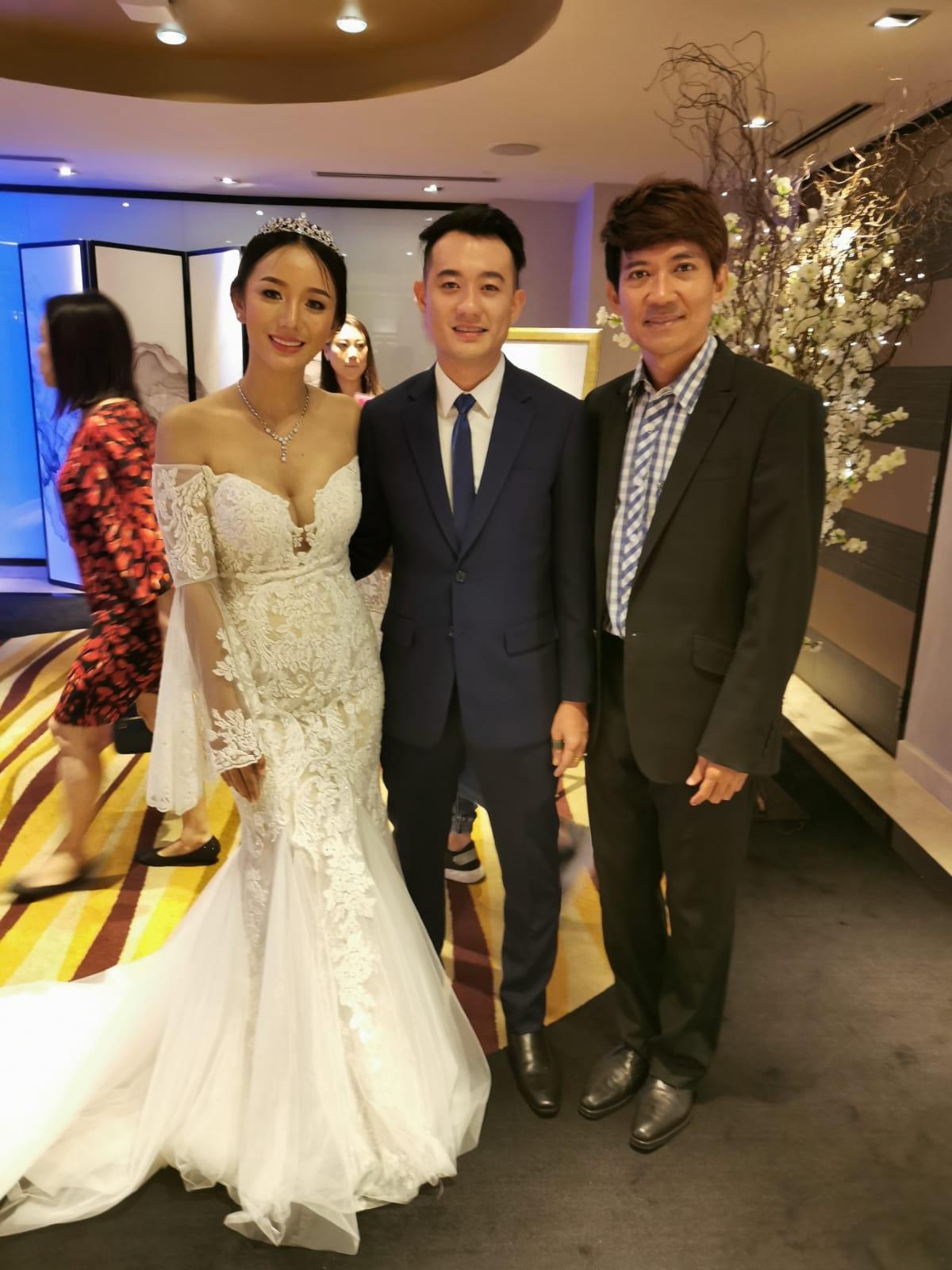 Thai Wedding in Singapore Live Band Music Singer