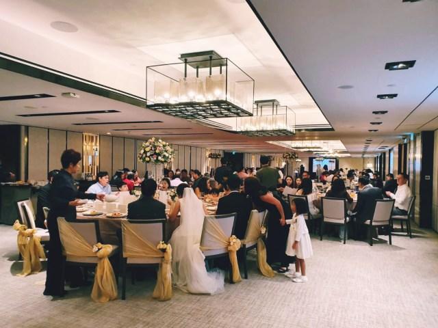 Azalea room Shangri-la Singapore wedding