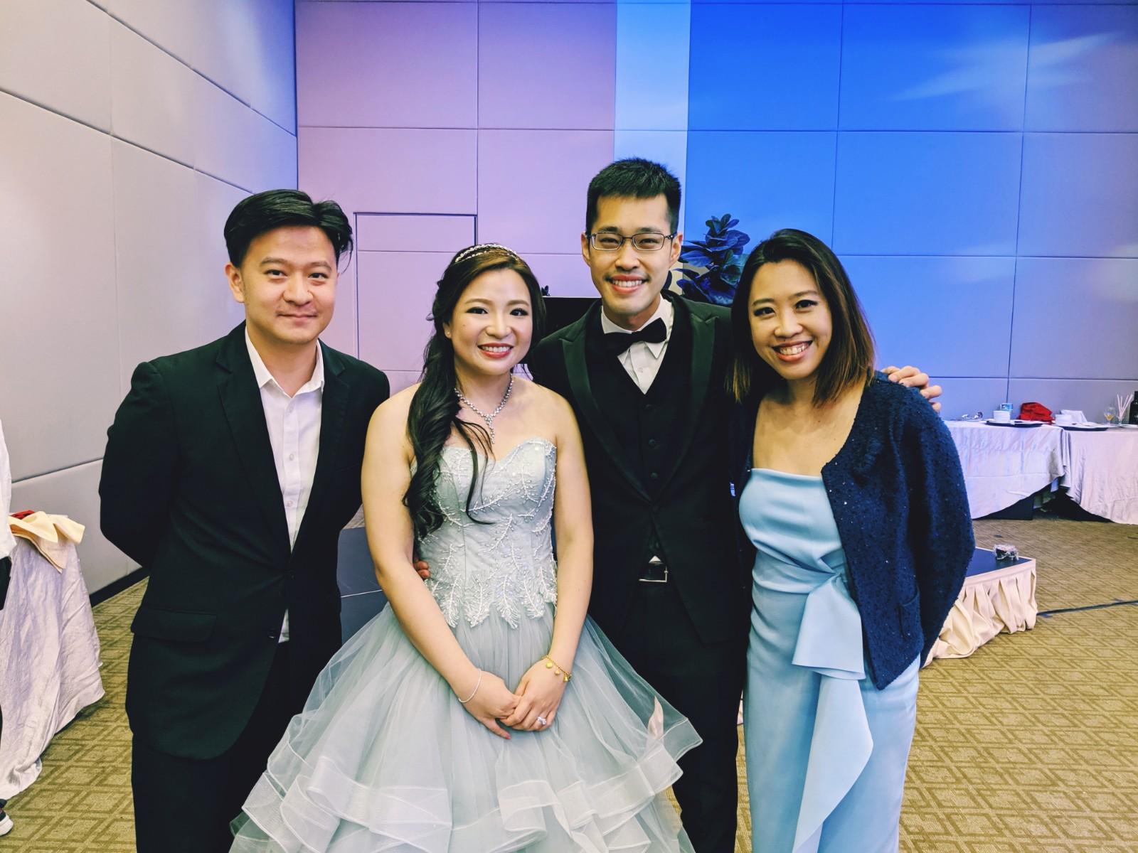 Temasek Club Live Band Emcee Singer Wedding Ballroom March-in