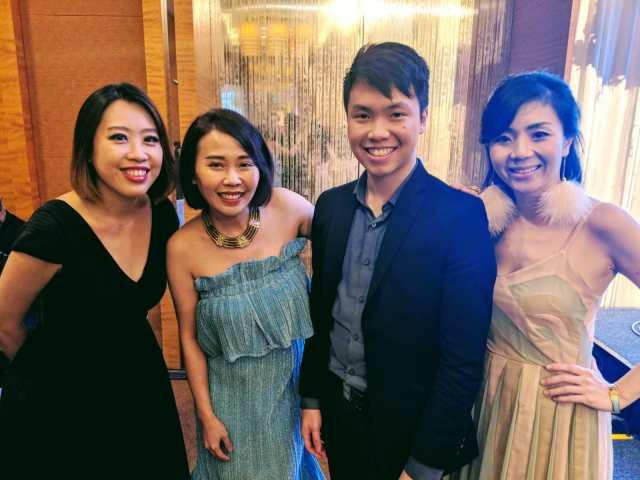 Marina Bay Sands Cassia Ballroom Wedding Live Band Emcee MC