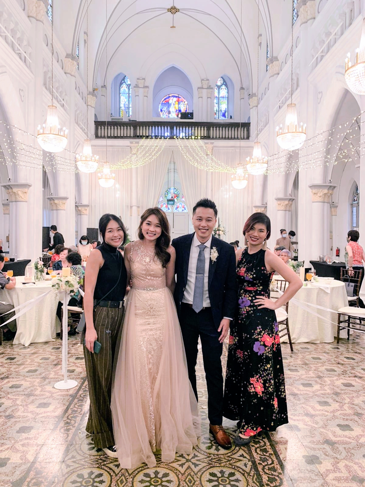 Chijmes hall singapore wedding emcee