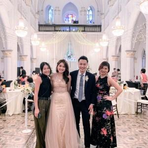 Chijmes hall singapore wedding emcee
