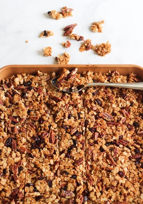 Homemade granola | A Little Food