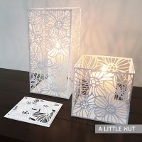 Brilliance candle covers & card set