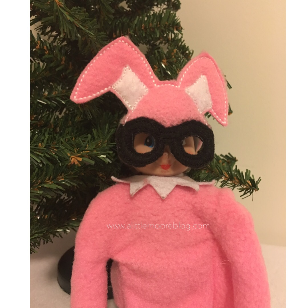 A Christmas Story Bunny Suit.A Christmas Story Elf Bunny Suit A Little Moore
