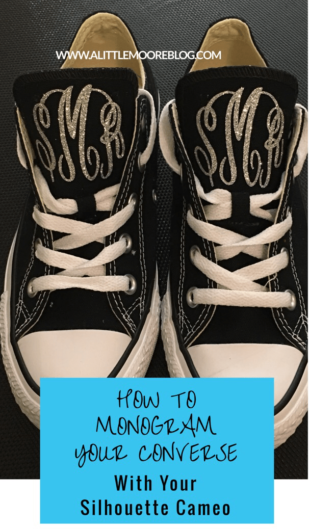How to Monogram Your Converse Shoes - A Little Moore 4b77053b6