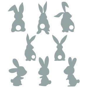 bunny silhouette picture