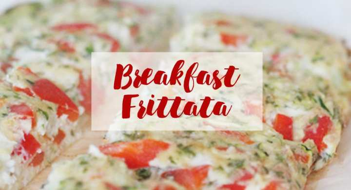 Winnipeg Nutritionist Breakfast Frittata