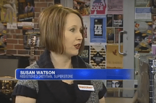 Susan Watson, Registered Dietitan Winnipeg Dietitian