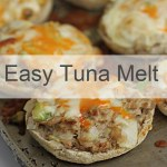 Easy Tuna melt by Winnipeg Registered dietitian