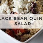 Winnipeg registered dietitian nutrition coach BLACK BEAN QUINOA SALAD