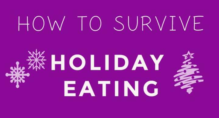 How to survive holiday eating by Winnipeg registered Dietitian nutritionist