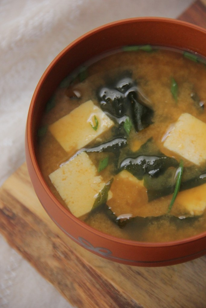 A simple fall miso soup recipe made from leftover pumpkin!