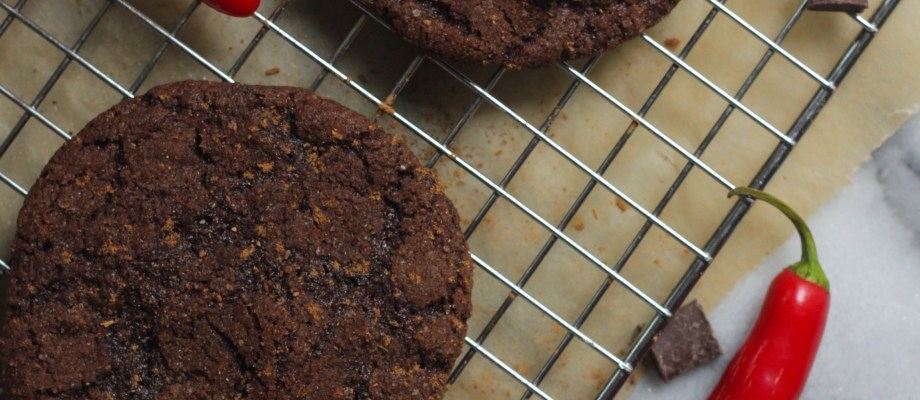Spicy Chocolate Chip Cookies with Sea Salt