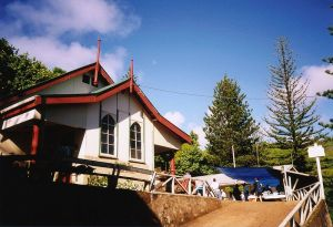 (Above: The Church in Adamstown, capital of the Pitcairn Islands)