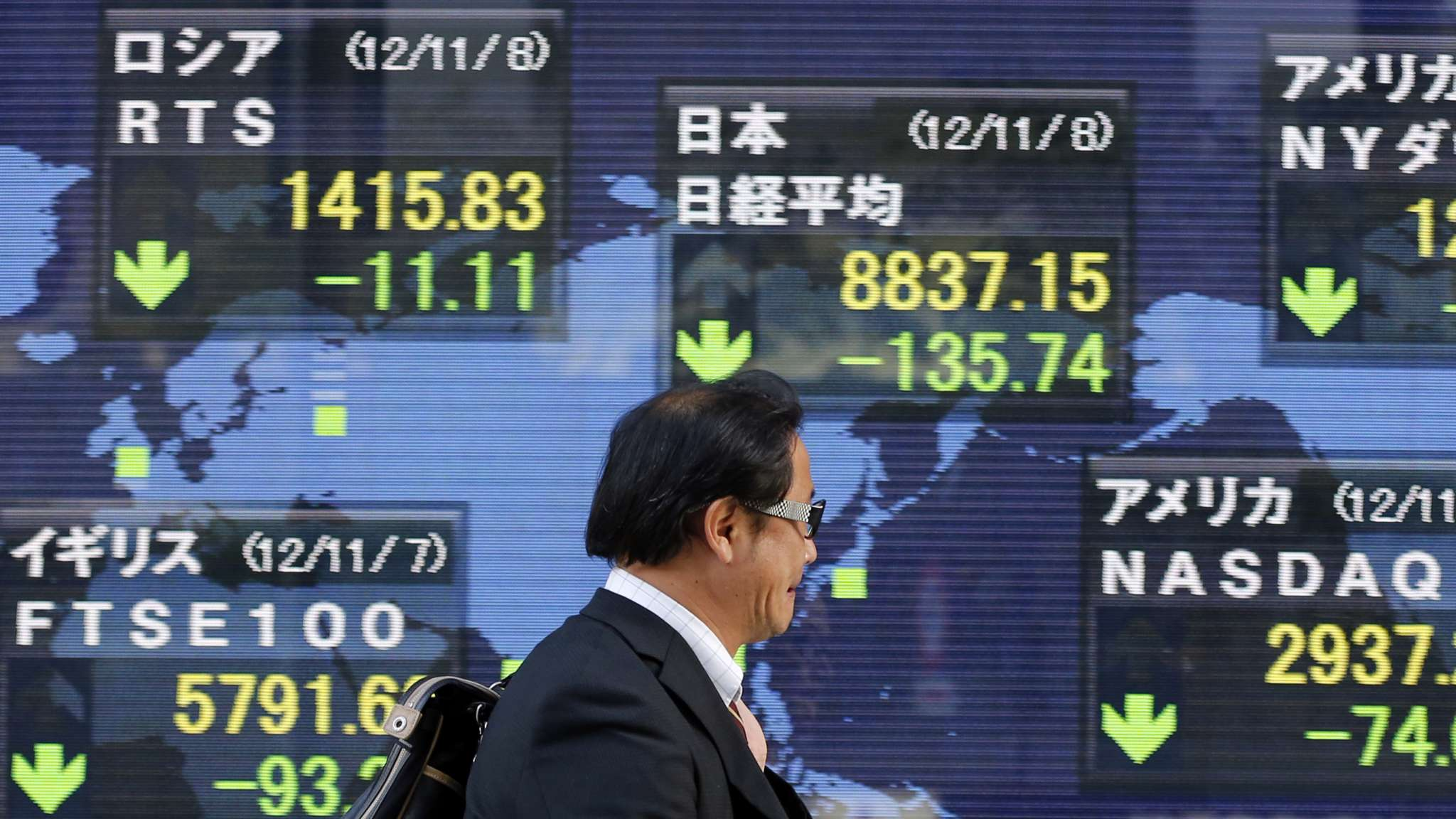 The Economic Gloom Connecting Japan and the World Economy
