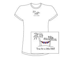 Women's R&R (Hilton Head Island) Short Sleeve Tee – White