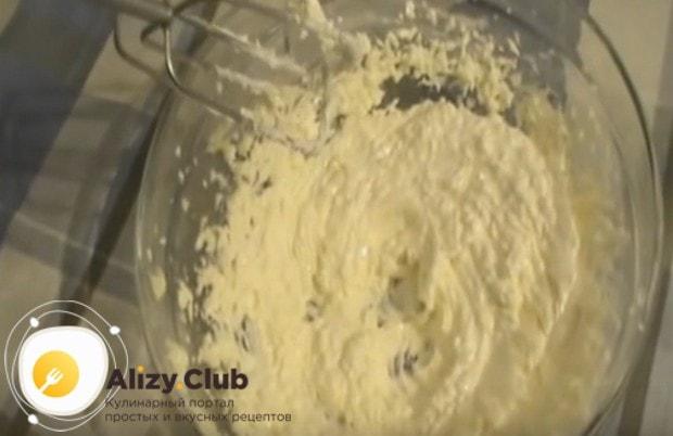 Añadimos un chip de coco a la masa y nos golpeamos hasta la uniformidad.