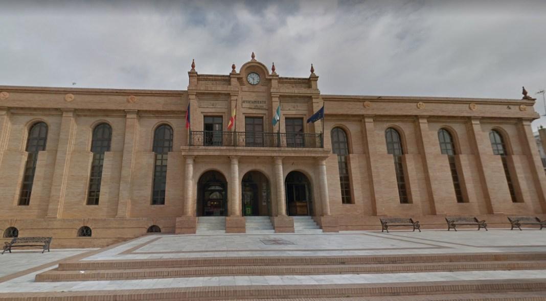 Ayuntamiento de la Puebla del Río, perteneciente al distrito sanitario del Aljarafe.