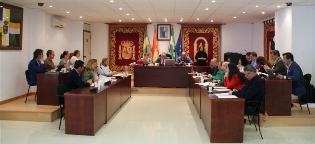 Pleno del Ayuntamiento de Bormujos.
