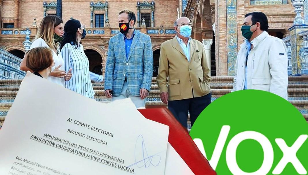 Candidatura de Volver a ser VOX, la cual ha impugnado la candidatura de Javier Cortés.