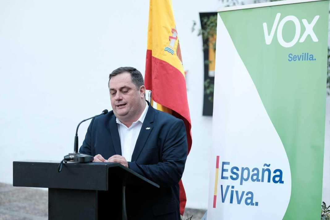 Diego Soto, candidato de VOX en Umbrete y uno de los dimisionarios.