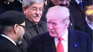 "Photo of ""ترامب يصافح الملك المغربي واويحيى يراقب""!"