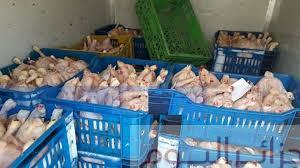 Photo of اجهاض تسويق 900 كلغ من الدجاج الفاسد بالبيض