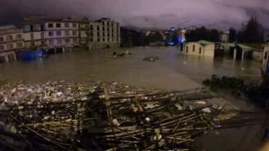Photo of امطار طوفانية تغرق عدة أحياء بولاية جيجل