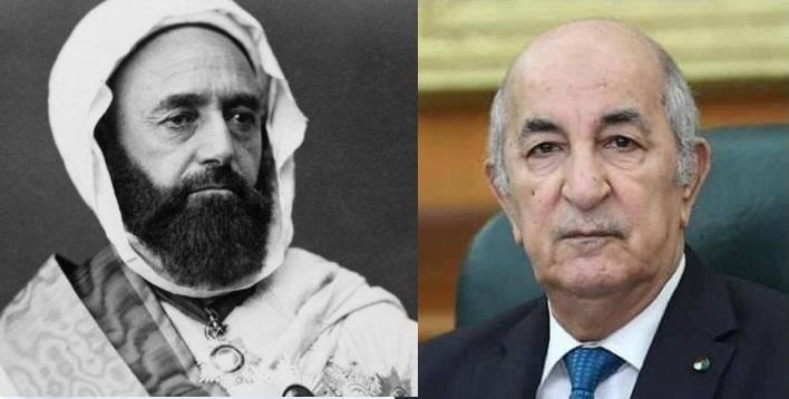 الامير عبد القادر ـ الرئيس عبد المجيد تيون