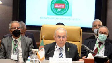 Photo of رئيس المجلس الرئاسي الليبي يستقبل لعمامرة