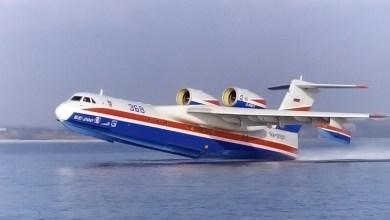"Photo of طائرة""بي- 200 تشي إس"" الروسية المخصصة لمكافحة الحرائق"