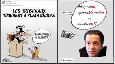 Photo of الدكتور أحمد بن سعادة يفضح رسام الكاريكاتير علي ديلام
