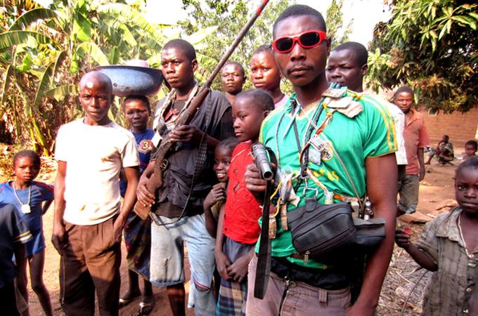 A group of anti-Balaka fighters [Amnesty International]