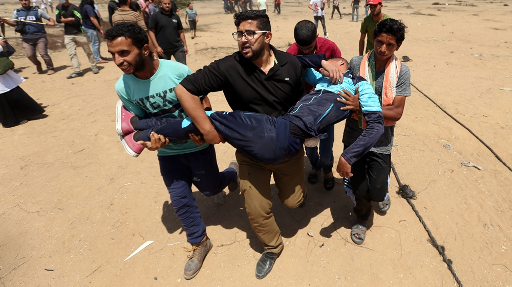Gaza protests and All the latest update happenings