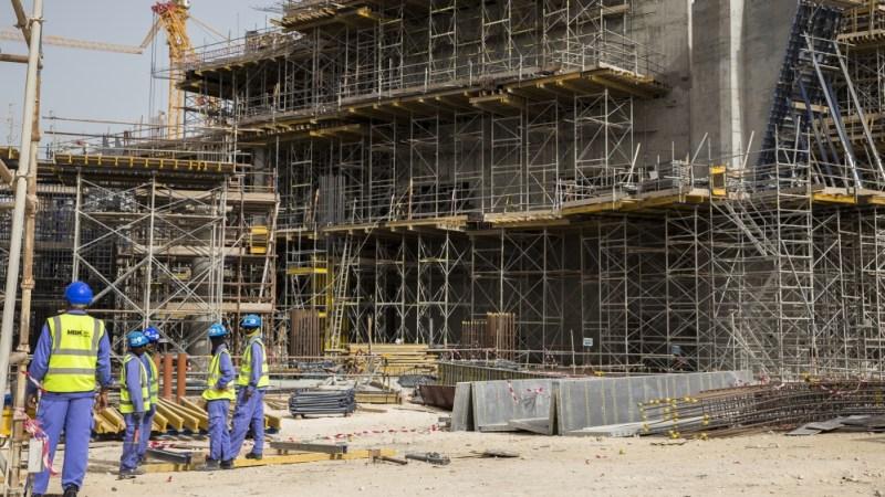 تارکین وطن مزدور کارکن 2022 ورلڈ کپ لوسیل فٹ بال اسٹیڈیم